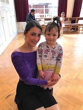 Wonderful friends at Prima School of Ballet