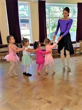 Classes full of adventures at Prima School of Ballet