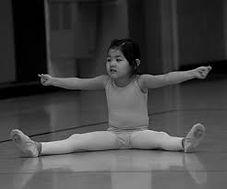 Ballet stretching class