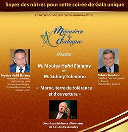 Gala Mémoires & Dialogue