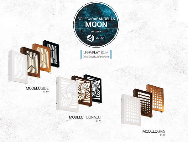 Coleção Moon Flat