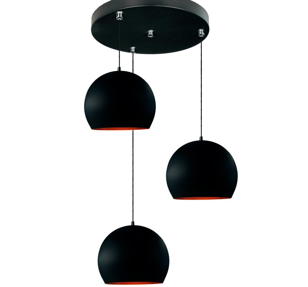 meia bola preto com cobre triplo conflat