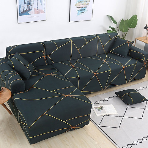 Sofa Covers/Protector L Shape Sofa Need Buy 2 Pieces Sofa Cover 1-4 Seater