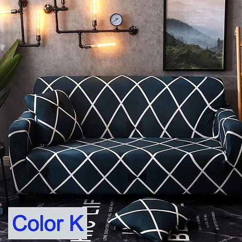 34 Designs Sofa Cover/Protector 1-4 Seat Elastic Ultra-Thin Universal