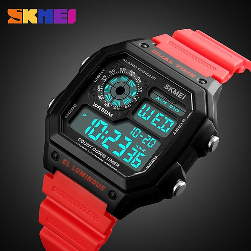 SKMEI Luxury Men's Watch  LED Digital