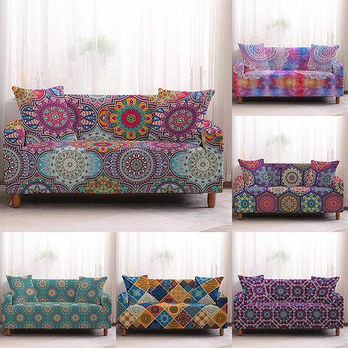 Sofa Cover/Protector Bohemia Slipcovers Mandala Pattern