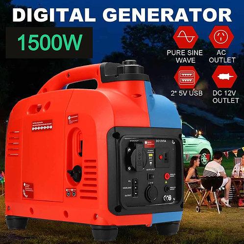1500W Gasoline Portable Inverter Generator