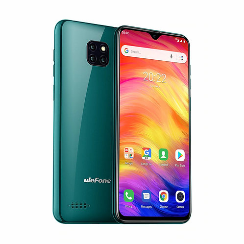 Ulefone Note 7 Smartphone 6.1inch  Waterdrop Screen 16GB Android9.0