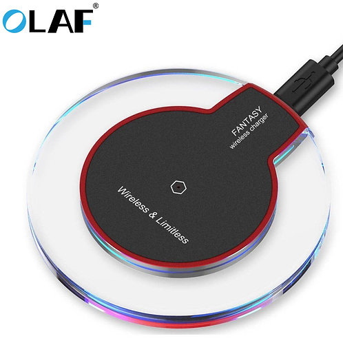 Olaf QI Wireless Universal Smartphone Charger for  LED USB