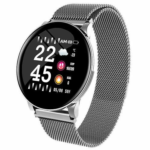 Smart Watch Men Women  BP Heart Rate Waterproof  Android IOS