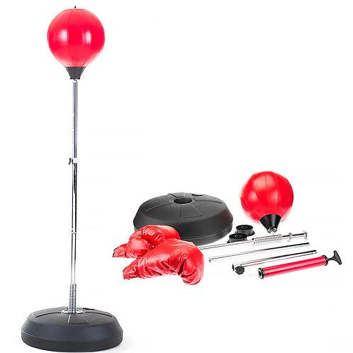Freestanding Punching Ball Gloves Set
