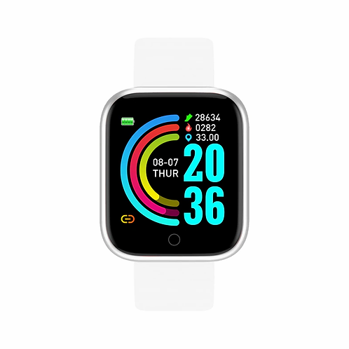 Sport Smart Watch  Women Men Bluetooth Fitness Tracker Android IOS