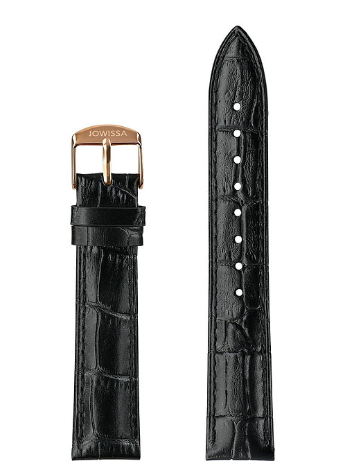Mat Alligator Leather Watch Strap E3.1443.L