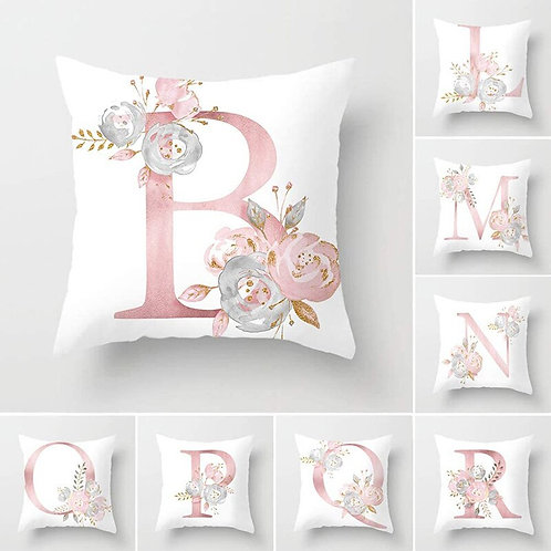Pillow Cover Letter Printed Cushion Cover Pillow case Polyester 45*45