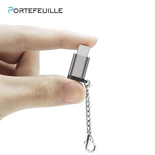 Adapter Micro USB Female to USBC Male Converter Type C