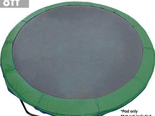 8ft Trampoline Replacement Pad Reinforced Outdoor Round Spring Cover