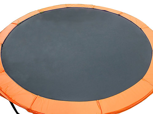 6ft Trampoline Replacement Safety Spring Pad Round Cover Orange