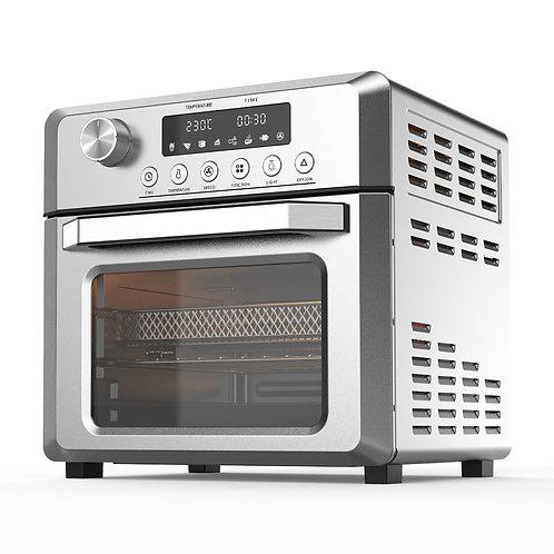 Pronti 18L 1500W Electric Air Fryer Multi Cooker Oven Silver