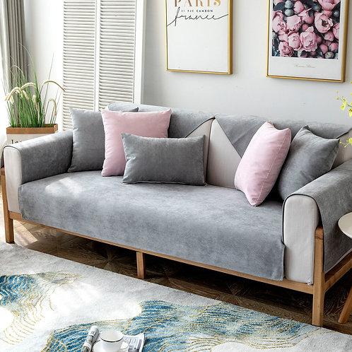 Waterproof Sofa Cover Protector Universal Non-Slip Solid Color