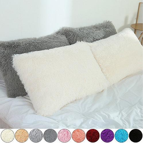 Cushion Cover Pillow Cover Pillow case 50x70cm Shaggy Fluffy