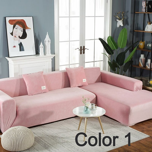 Thick Velvet Sofa Cover Protector Universal Machine Washable