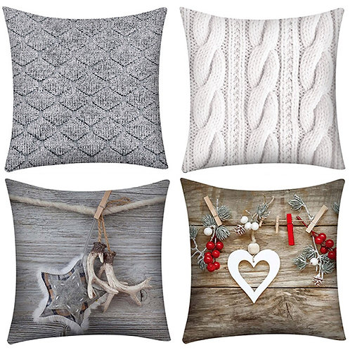 Print Pillow Case Polyester Cushion Cover