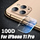 Thumbnail: 100D Camera Protection Glass for iPhone 11 TO 12 Pro MAX