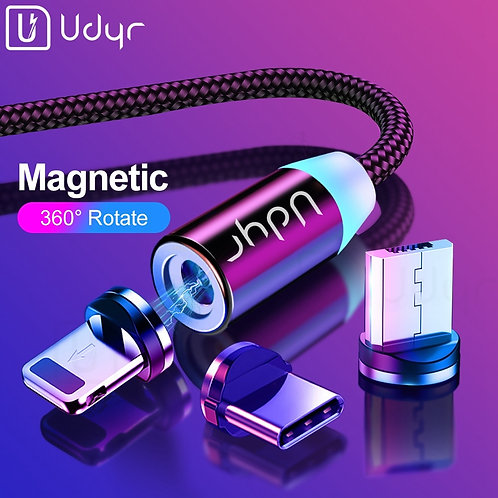 Udyr 2m Magnetic Micro USB Lightening Type C