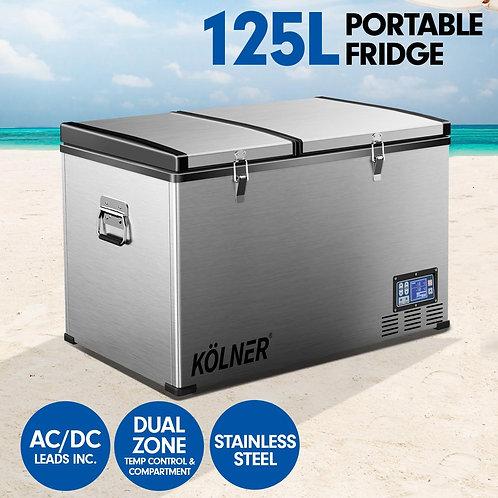 Kolner 125L Portable Fridge Cooler Freezer Camping
