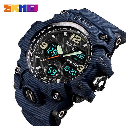 SKMEI Men's Watch Luxury Denim Style Sports Waterproof