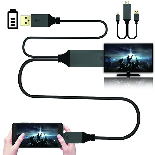 USB-C 3.1 Type C to HDMI TV HDTV Cable for Samsung Galaxy S8 Note 8 MacBook Pro