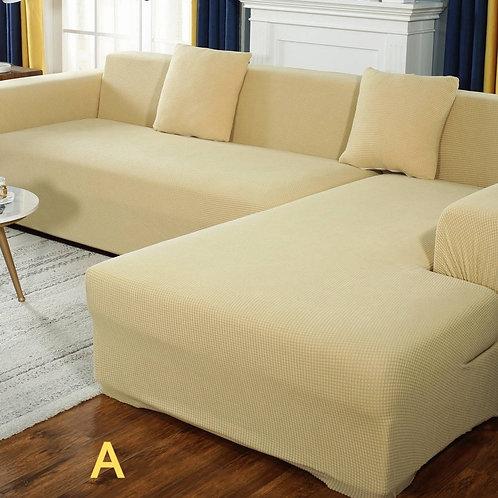 Sofa cover/Protector Solid Color Stretch Elastic Spandex  Stretch Sofa Towel