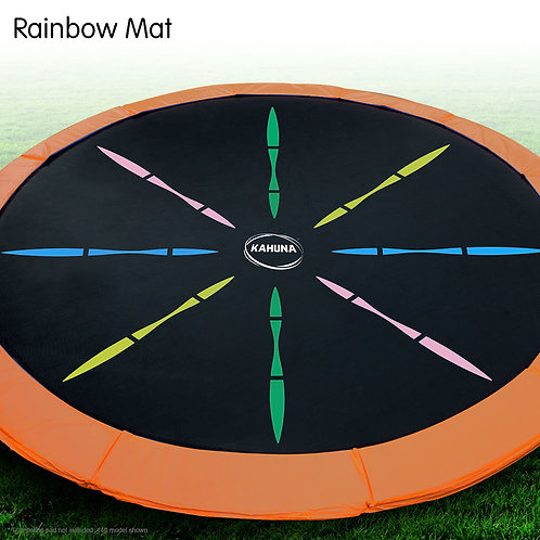 Trampoline Replacement Spring Mat - Rainbow