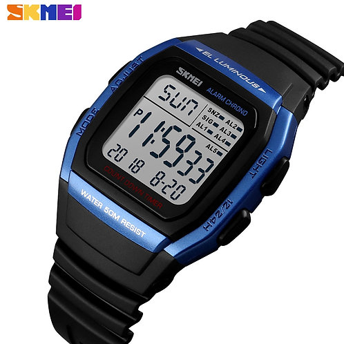 SKMEI Brand Luxury Watch Men Digital Sport Waterproof Military