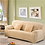 Thumbnail: Solid Color Elastic Sofa Cover Universal Stretch L-Style  Sectional 23 Colors
