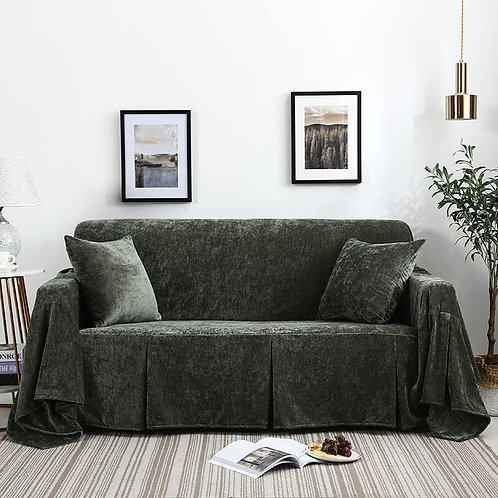 Flannelette Sofa Towel Cover Protector Comfortable Soft Durable