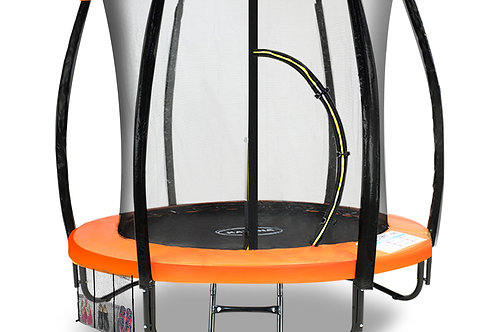 Kahuna Trampoline 6ft with Roof Cover - Orange