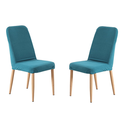 2x Dining Chair Covers Spandex Cover Removable Slipcover Banquet Party Green