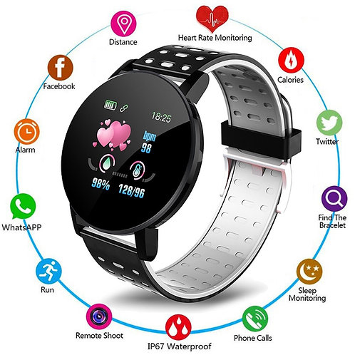 Smart Watch Men Women  Android IOS Sports Fitness