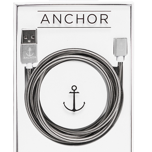 Anchor Cable 2.0 - World's Strongest Stainless steel magnetic charging cable