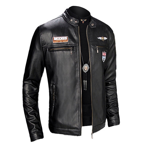2021 New Men's Long-Sleeved Jacket