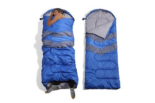 Micro Compact Design Thermal Sleeping Bag Blue
