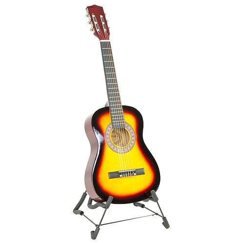Childrens Guitar Karrera 34in Acoustic Wooden - Sunburst