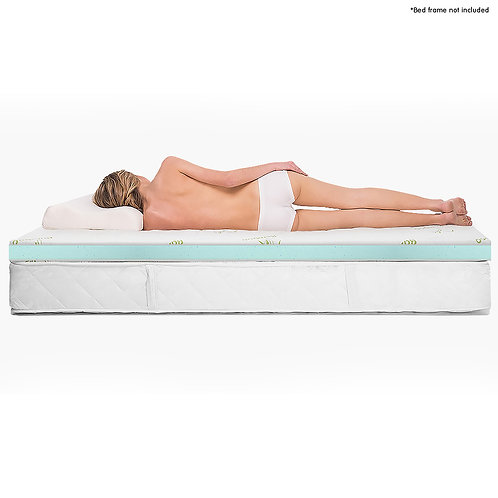 Laura Hill Cool GEL Memory Foam Mattress Topper - Single