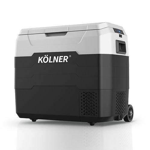 Kolner 50L Portable Fridge Cooler Freezer Refrigerator w/ Trolley