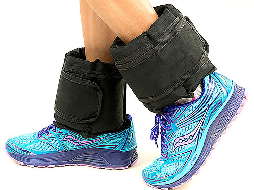 2x 2.5kg Adjustable Ankle Exercise Running Weights