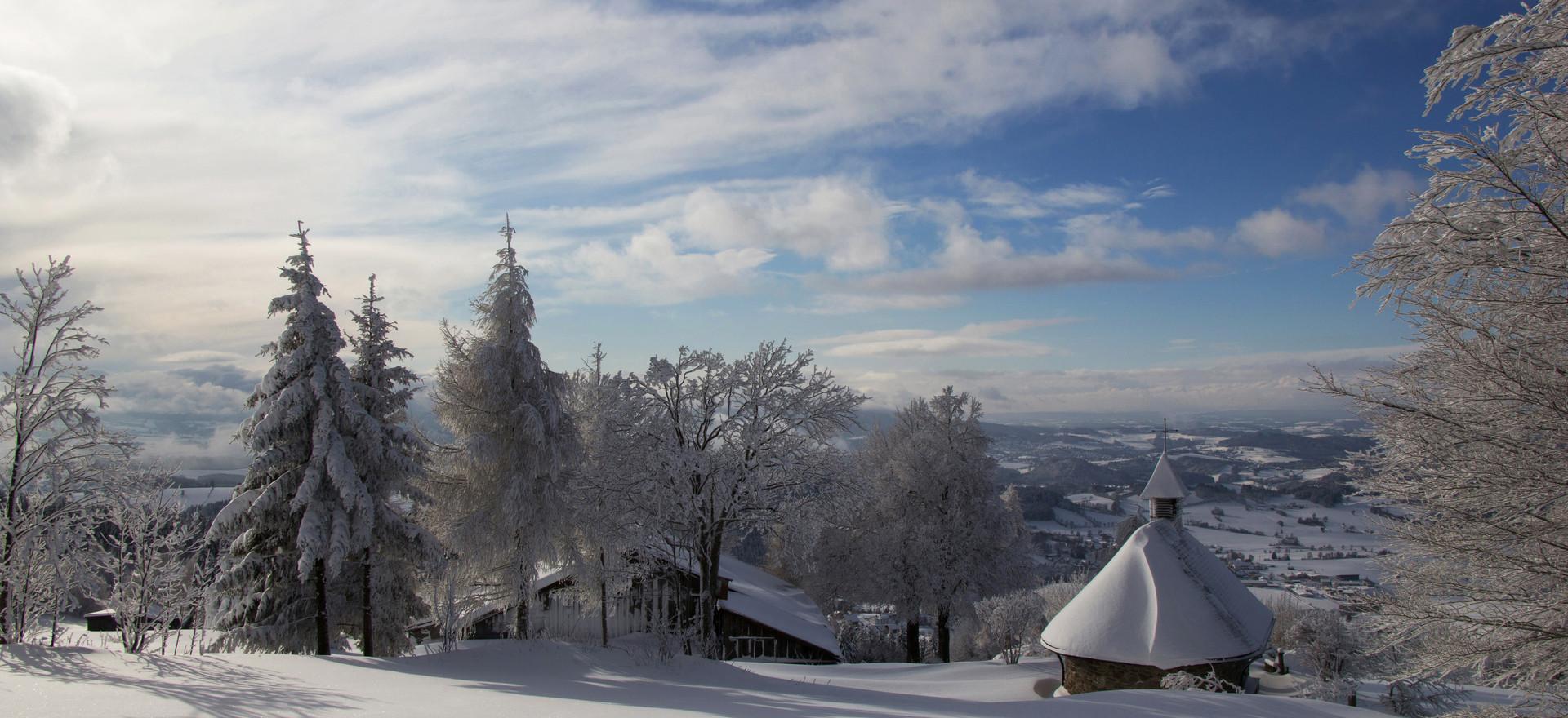 Bergkirchlein in Obergrainet