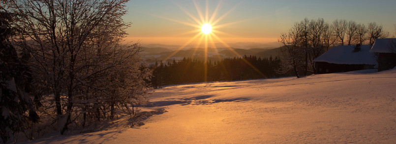Dezemberabend in Obergrainet