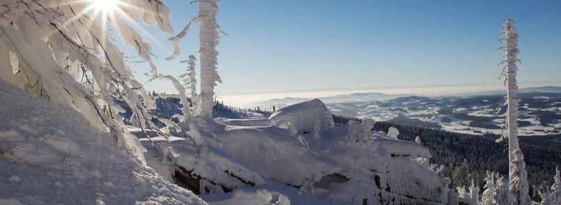 Wintertag am Dreisessel