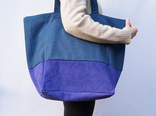Purple Large Tote
